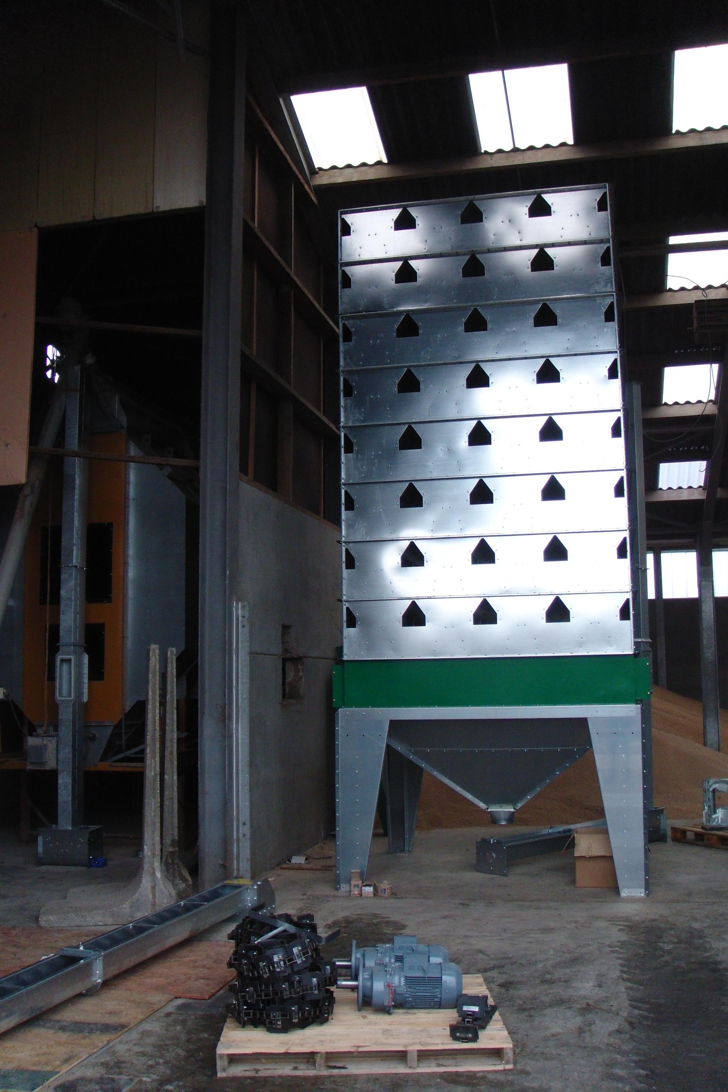 Opbouw Machine