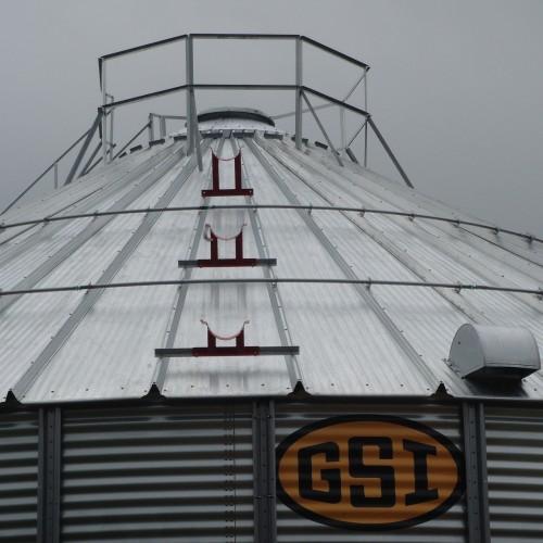 GSI Toren Dak Ingezoomd
